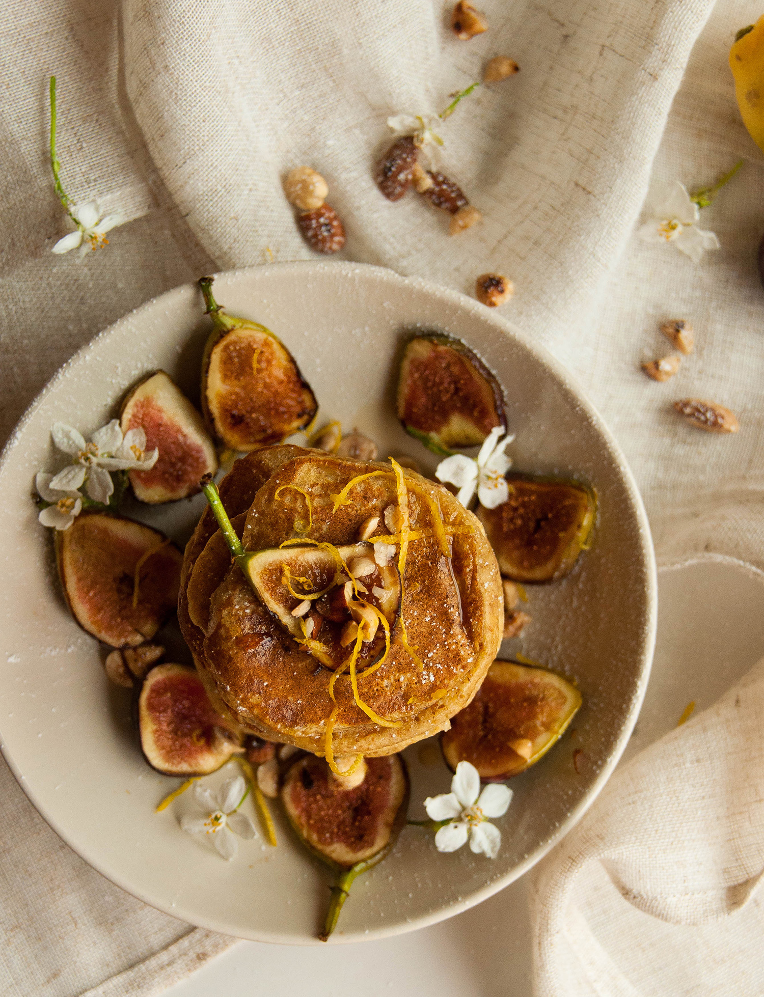 Lemon Ricotta Pancakes With Sauteed Apples Recipes — Dishmaps