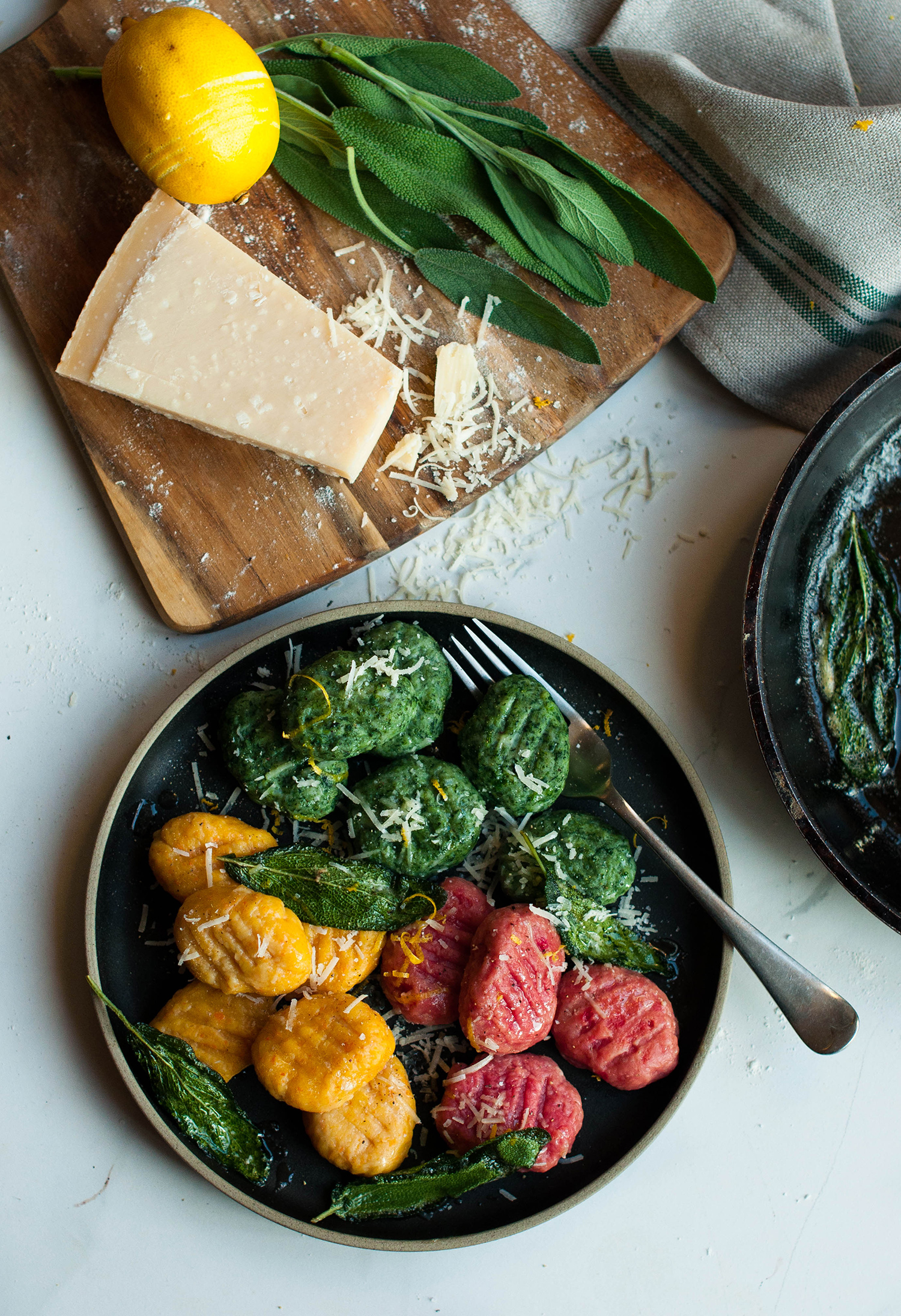 homemade-gnocchi-ricotta-spinach-carrot-beetroot-lea-lou-3