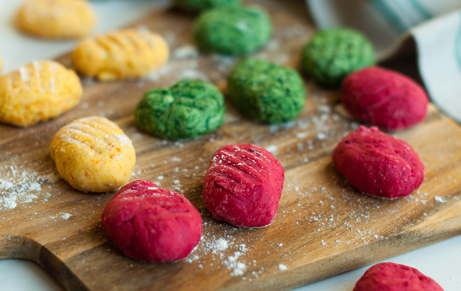 homemade-gnocchi-ricotta-spinach-carrot-beetroot-lea-lou-4