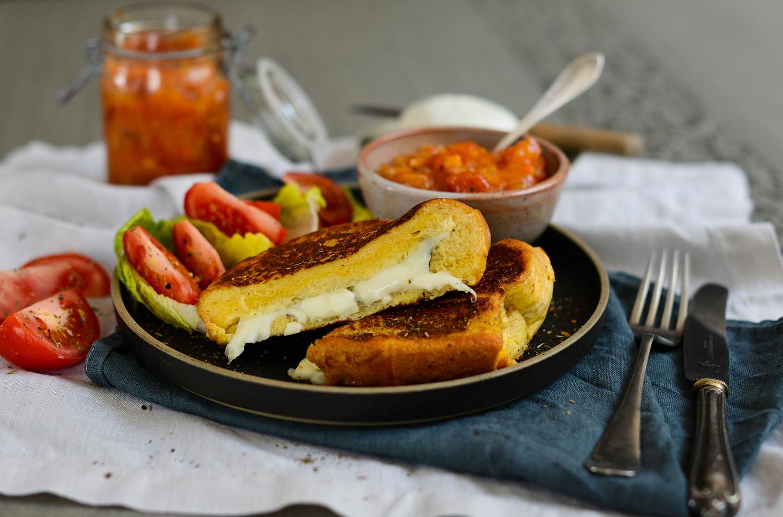 Lea-Lou-French-toast-cheese-tomato-chutney-1