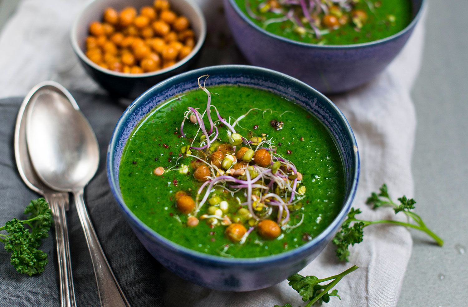 Vegan-spinach-parsley-soup-Florette-Lea-Lou-1
