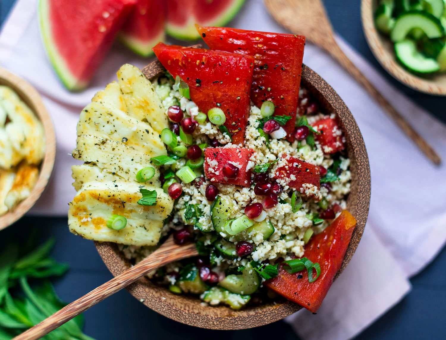 Cauliflower-tabouleh-halloumi-watermelon-7