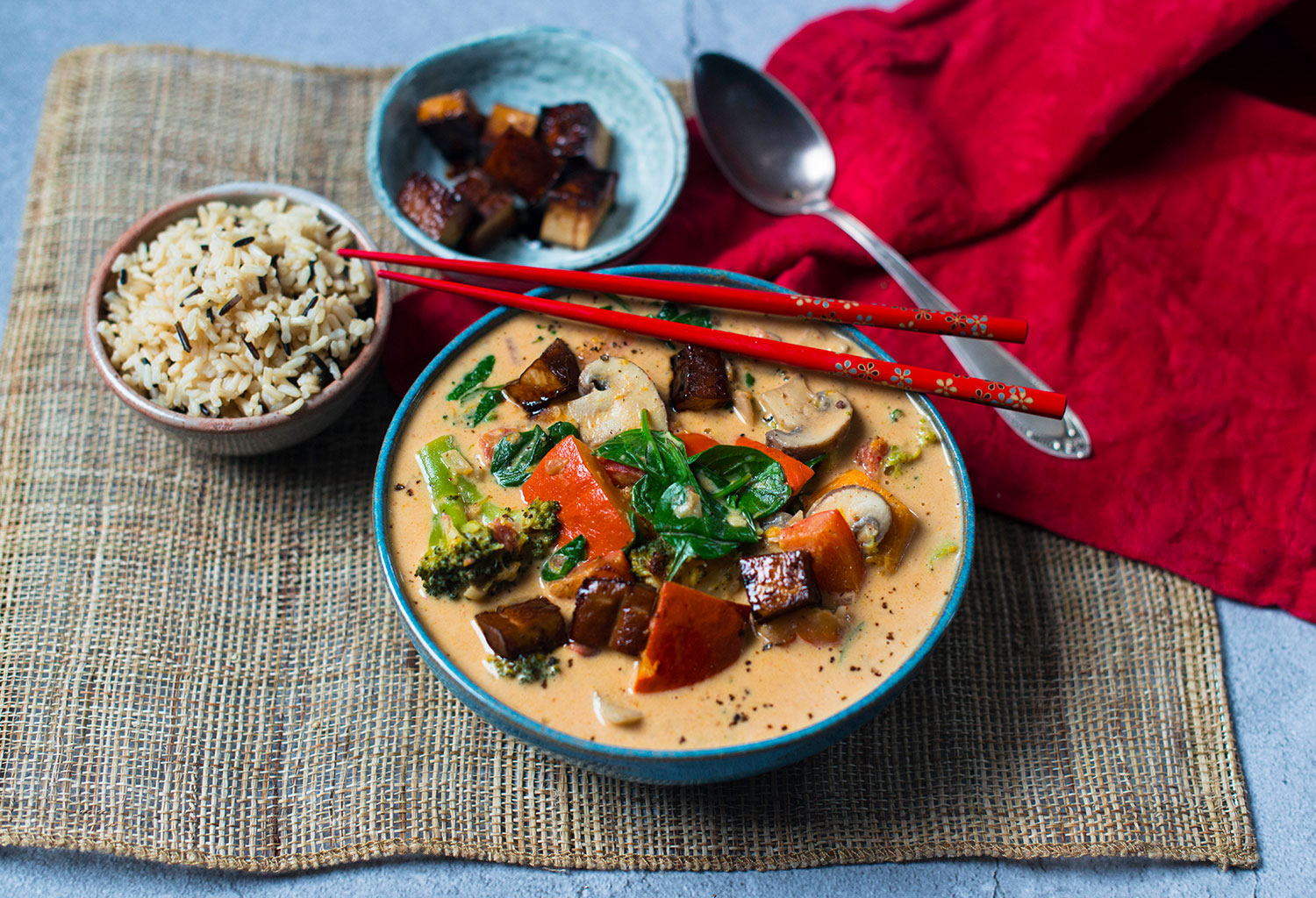 Veganes-Rotes-Thai-Curry-Erdnuss-1