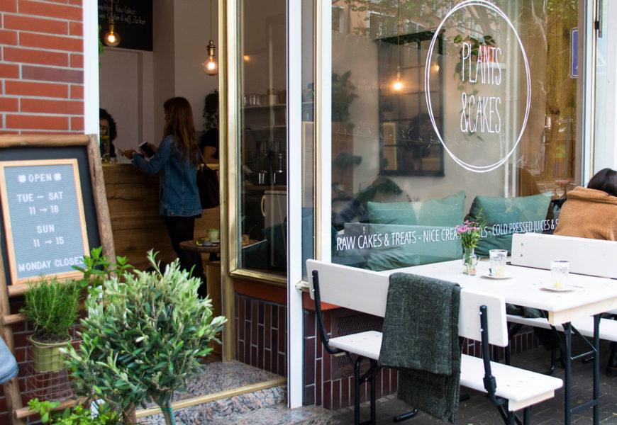 Raw, vegan and sugar-free: Plants & Cakes in Frankfurt