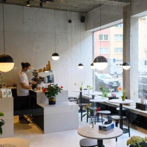 New in Frankfurt: Drei Kaffeebar
