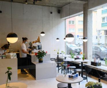 Drei Kaffeebar in Frankfurt