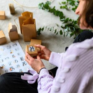 Toni Lottas erster Adventskalender! Eine Anleitung zum Kinder-Adventskalender basteln
