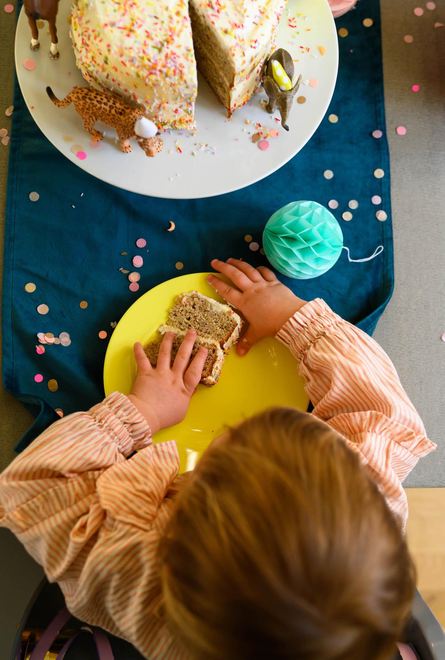 Zuckerfreier Geburtstagskuchen für Kinder